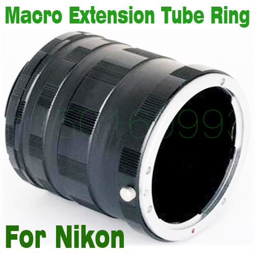 Macro Extension Tube Ring Mount Adapter For Nikon D7200 D7100 D5100 D5200 D7000 D750 D810 D800 D3100 D3200 D750