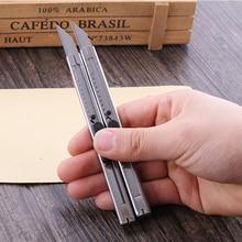 Нож из нержавеющей стали для рукоделия, поделок, резной нож, хобби, точилка, модель, ремонт скульптуры, нож для скальпеля, художественный нож