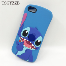 3D Cartoon Stitch Silicone Case For Huawei Y5 Y6 Y7 Prime 2018 Cover Rubber Honor 9lite 7C 7A Pro P20 Lite Coque