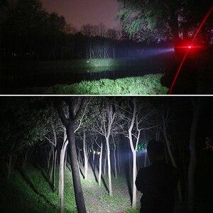 Image 5 - 超高輝度ledヘッドランプ1 × T6 + 40 × 2835LEDヘッドライト4照明モードとインテリジェント光センシングキャンプ、釣り