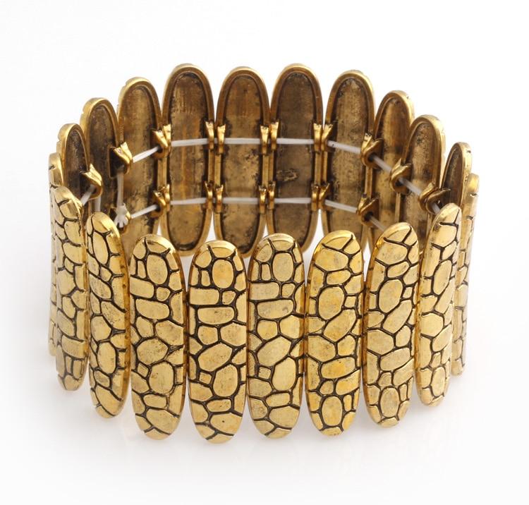 High Quality Vintage Elastic bangles Alloy Bangle Fashion jewelry wholesale S234