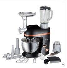 220 V Многофункциональный Электрический тестомеситель веничек для взбивания яиц 5L Электрический блендер с соковыжималка для колбасы кухонный Настольный миксер