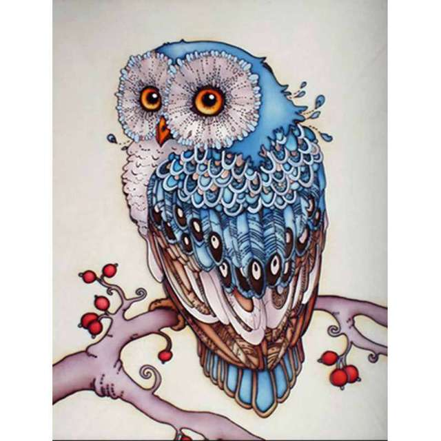 Iy 5d diamond embroidery painting cute owl animal cross stitch home iy 5d diamond embroidery painting cute owl animal cross stitch home decor craft lh8s voltagebd Image collections