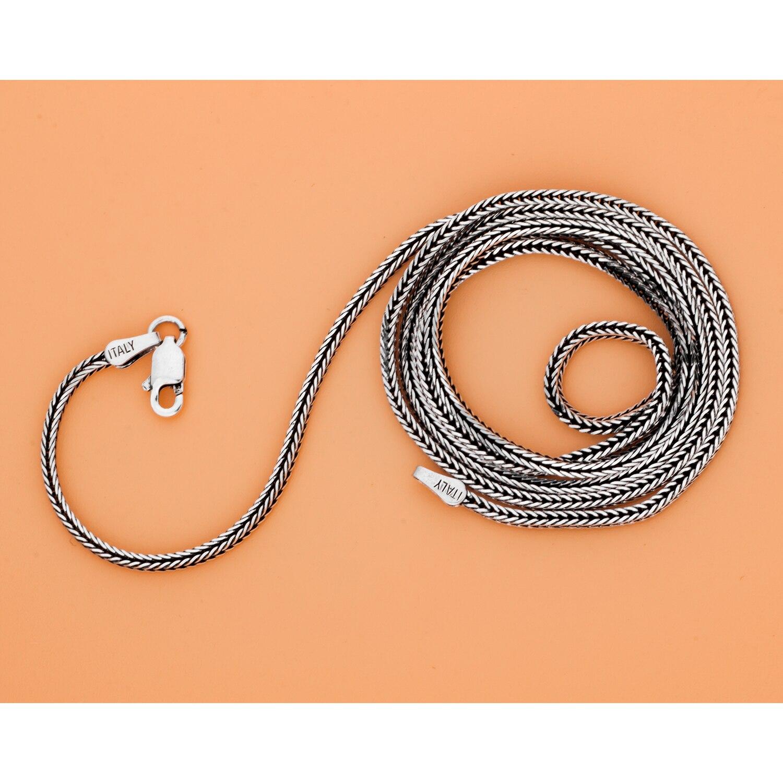 MetJakt Punk Dragon pendentif avec Agate solide 925 pendentif en argent Sterling collier et 16-32 pouces chaîne de serpent - 5