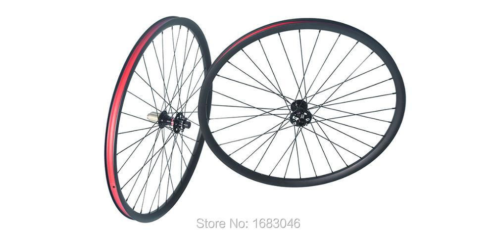Углерода Волокно велосипед Горный Колёса 29er 30 мм довод hookless трубчатый MTB Велосипедный Спорт Racing Колёса et