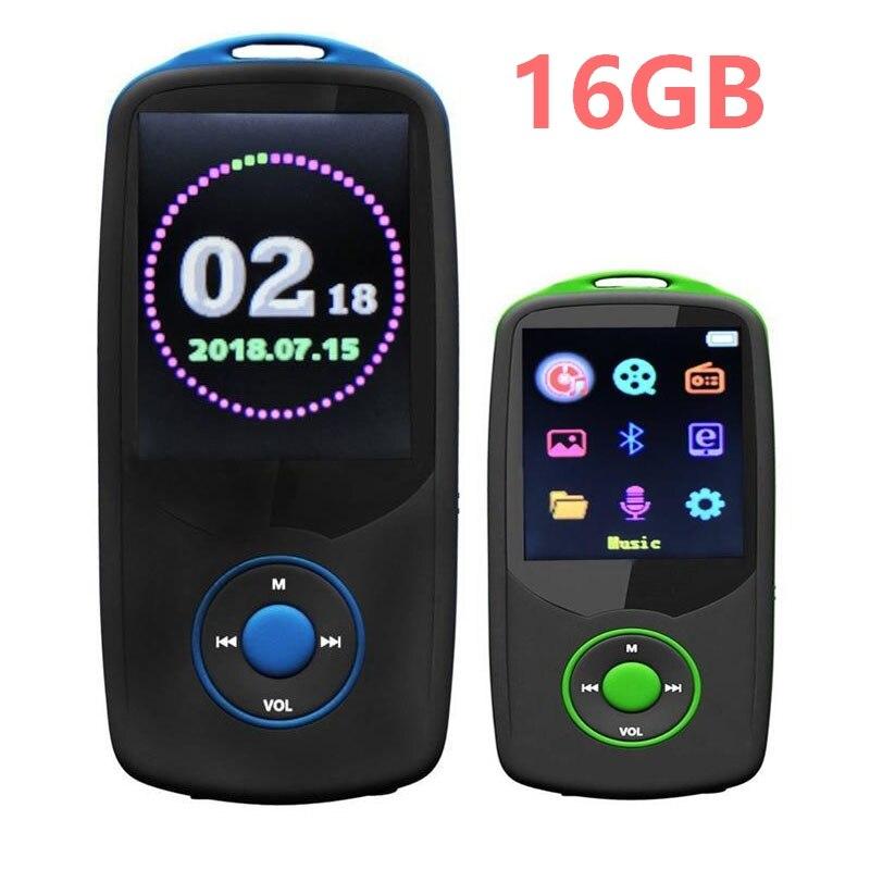 Konstruktiv Bluetooth 4,0 Mp3 Musik Player 16 Gb Ruizu X06 Farbe Bildschirm Menü Mit Fm Radio Unterstützt Bis Zu 64 Gb Sd/tf Karte RegelmäßIges TeegeträNk Verbessert Ihre Gesundheit Voice Recorder
