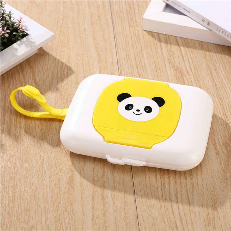 Коробка для детских салфеток мокрого пылесос диспенсер для коляски переносная веревка крышка покрыта коробки ткани
