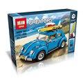 Бесплатная Доставка 2017 Новый ЛЕПИН 21003 1193 Шт. Создатель Volkswagen beetle Модель Строительство Комплекты Кирпичи Игрушки Совместим с 10252
