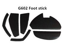 Ratón Logitech G602 ratón pie etiqueta engomada
