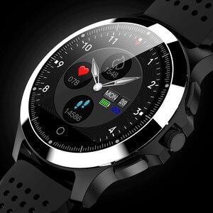 Image 1 - ЭКГ PPG смарт браслет артериальное давление пульсометр IP67 водонепроницаемые Смарт часы Шагомер трекер сна фитнес трекер спортивный браслет