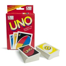 free shipping 108 Cards Family Funny Entertainment Board Game UNO Fun Poker Playing Cards Puzzle Games Brand New