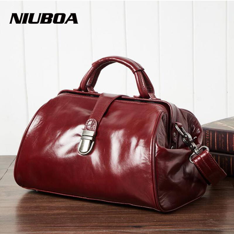 Real Cow Leather Ladies Bags Women Genuine Leather Handbag Shoulder Bag High Quality Designer Luxury Boston Crossbody Bag real cow leather tote bag women genuine leather handbag shoulder bag high quality designer brand boston crossbody bag