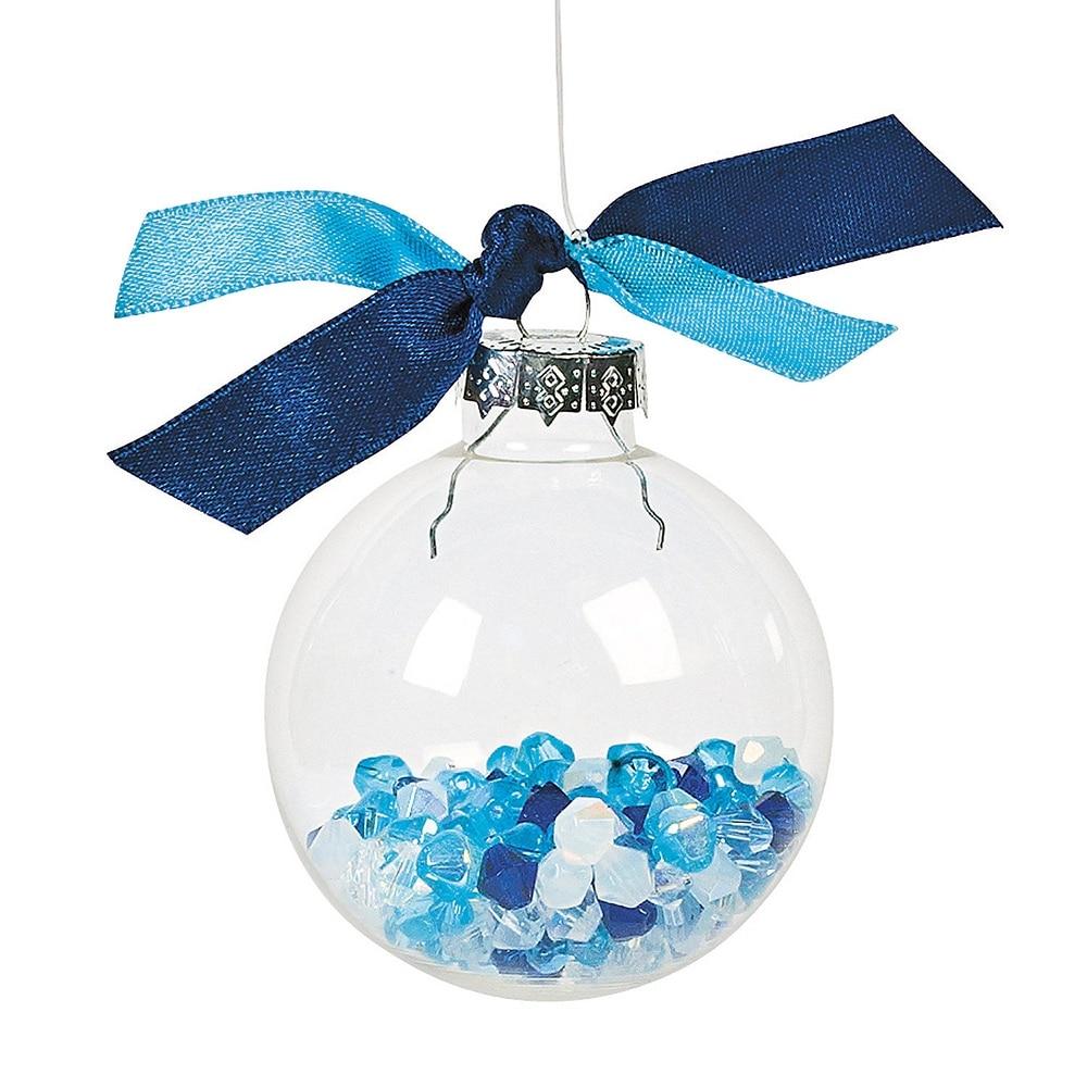 Compare prices on clear glass christmas ornament online - Decoration boule de noel en polystyrene ...