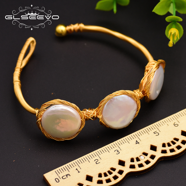 Фото женские жемчужные браслеты барокко glseevo подарочные bileklik цена