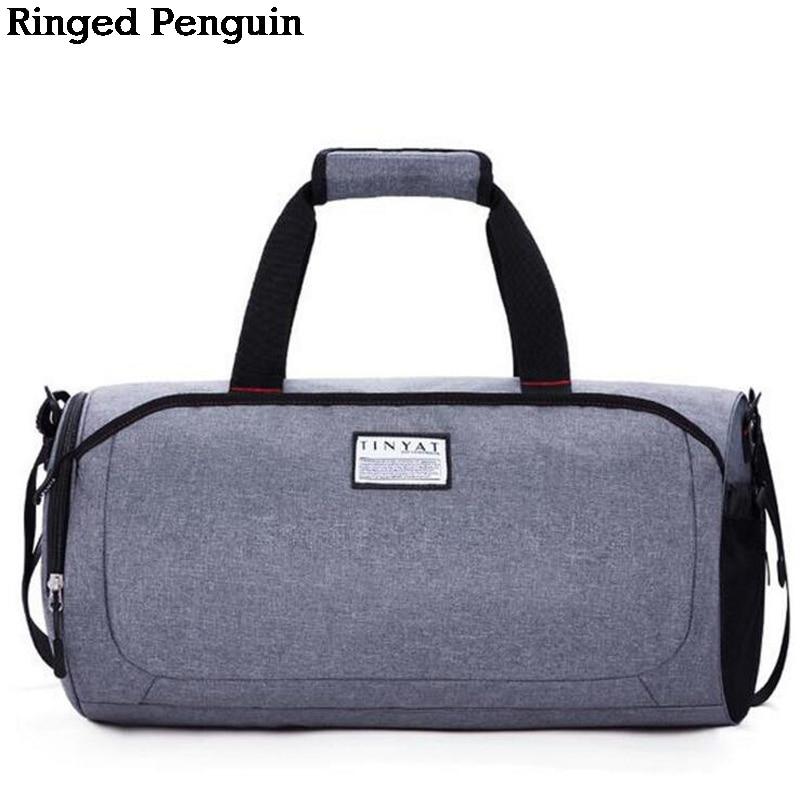 Csengetett Penguin Férfi Új Utazótáska Női Kéz Poggyász Utazás ... efeeea05e3