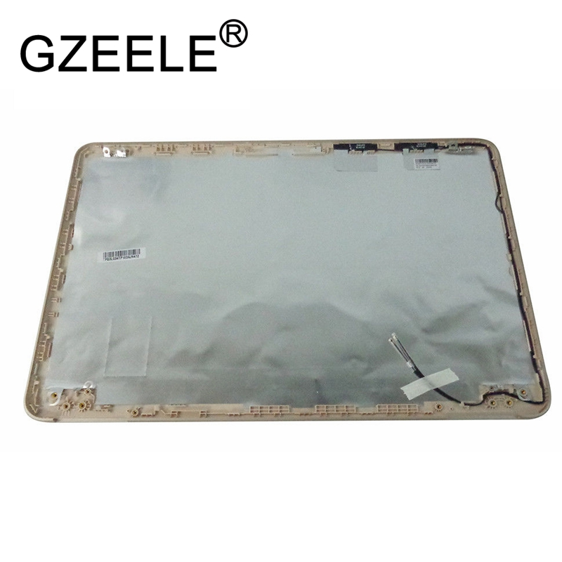 GZEELE New for HP Pavilion 15-AU 15-AW Lcd Back Cover 856327-001 gold color LCD Rear Lid Top Back case gzeele new top lcd cover for hp for elitebook 725 820 g1 top case laptop lcd back cover top case 730561 001 6070b06753 rear lid