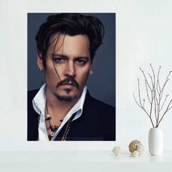 New Products Johnny Depp Wall Art Canvas  1