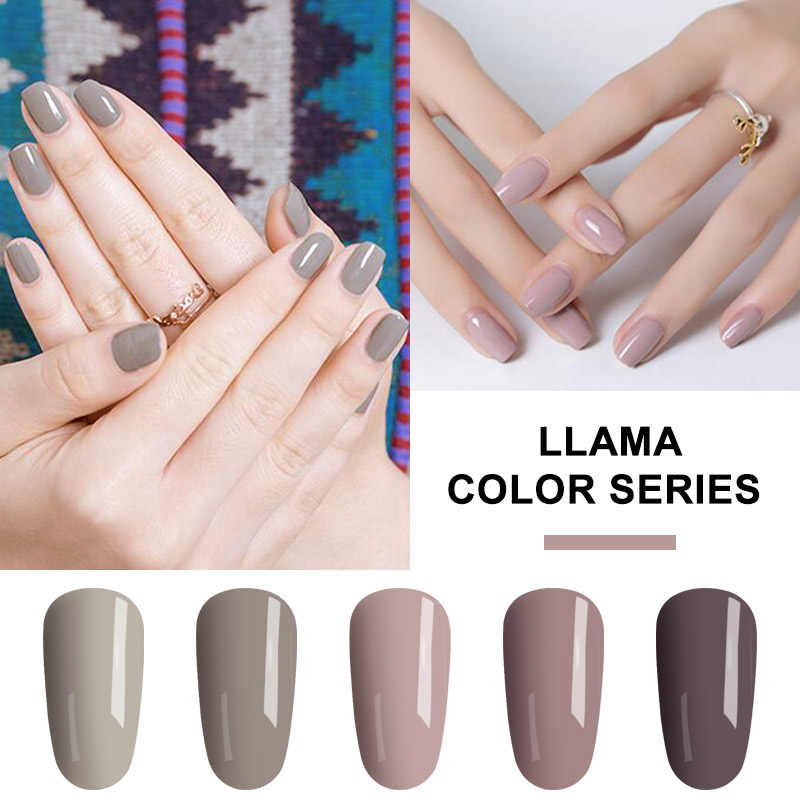 YIFEI Gel Varnish Nail Polish Manicure Soak Off UV Semi Permanent UV Gel  Paste for Nail 8687b814403d