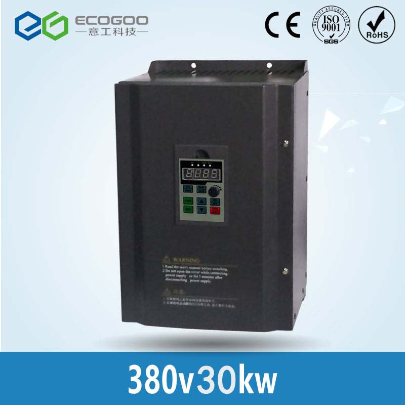 цена на CE Approved 30KW Frequency Inverter 50hz to 60hz / Variable Frequency Converter/3 Phase 380V Frequency Inverter--Free Shipping