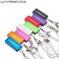 Wansenda inoxydable étanche minuscule clé usb 4GB 8GB 16GB 32GB 64GB coloré mode stylo lecteur clé usb clé usb