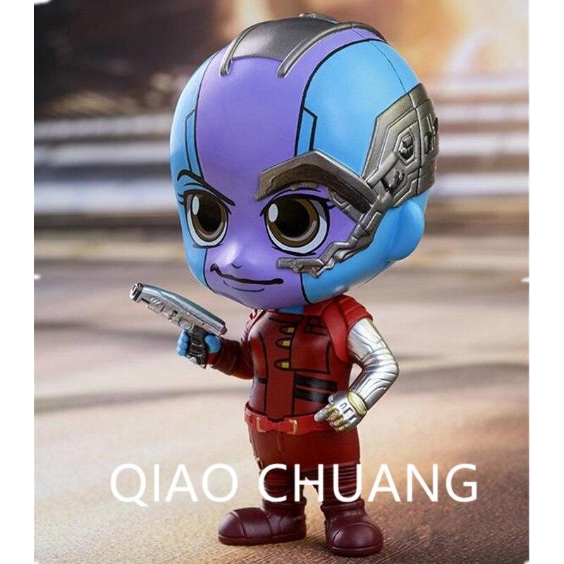 Les Avengers 3 Anti-héros Q Version gardiens de la galaxie bras robotique nébuleuse PVC figurine d'action Bambola G1176