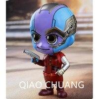 The Avengers 3 Anti hero Q Version Guardians Of The Galaxy Robotic Arm Nebula PVC Action Figure Bambola G1176