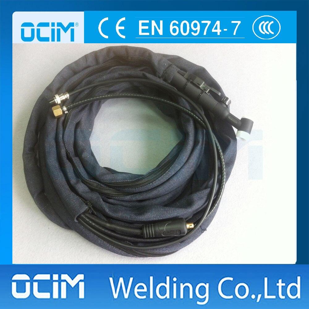 gasventil/flex Kopf Wp-17fv-25r 25ft 150a Luftgekühlten Wig-schweißbrenner Paket