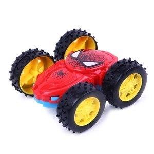 Image 3 - Jouet pour enfants, camion à benne Double face à inertie, jouet à rabat à 360 degrés, cadeau danniversaire, nouveau produit, 1 pièce