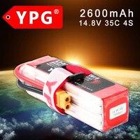 YPG 14.8V 2600mAh 35C 4S Lipo Li Po Lipoly High performance Battery For RC Hobby
