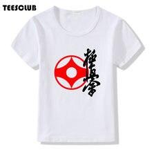 2f757c7445a17 Karaté Kyokushin T shirt Garçons Filles Manches Courtes D été Tops Enfants  Casual Karaté Vêtements Cool Bébé Enfants T-shirt Drô..