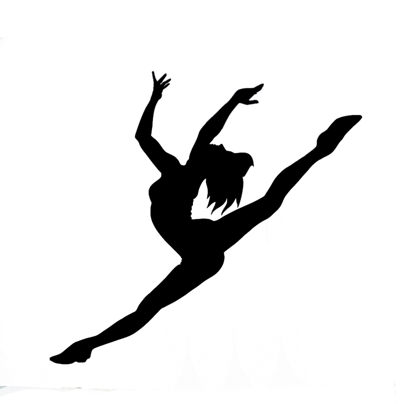 Wholesale Pcslot Pcslot Ballet Dancer Vinyl Car Decal - Modern car decal sticker girl