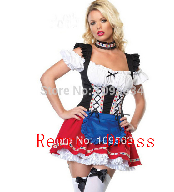 Online Buy Wholesale waitress halloween costume from China ...