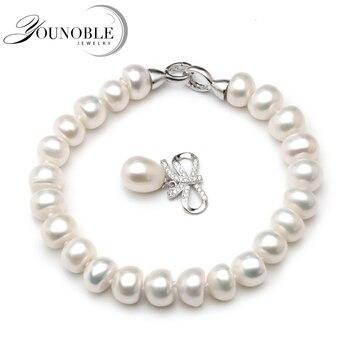 18bfb9895e8f Pulsera de perlas de agua dulce para mujer