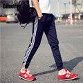 Top fashion 2017 homens calça esporte corredores hip hop pant calças sweatpants jogging aptidão pantalon homme casuais, roupas de ginástica