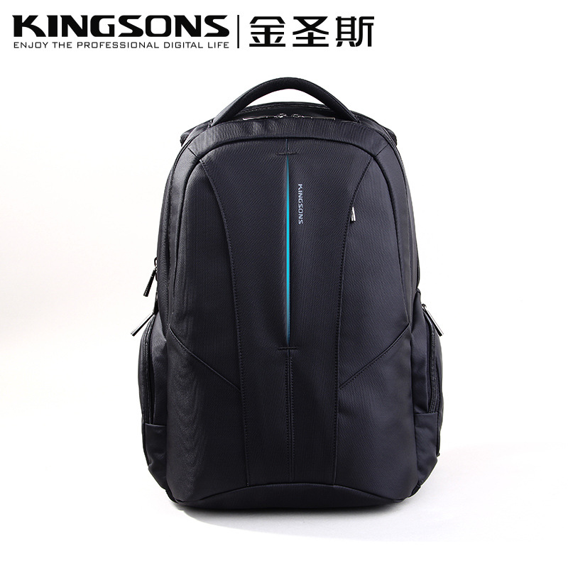 Kingsons  New notebook  computer  bag backpack 15.6 inch male business Latop bag  Waterproof breathable backpack  free shipping kingsons waterproof bag computer bag student bag bag and backpack korean 15 inch
