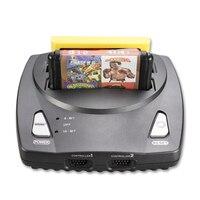 POWKIDDY Top quality NES + SEGA Genesis/MD compatto a 16 bit e 8 bit 2 in1 doppio sistema di supporto console di gioco gioco originale carta