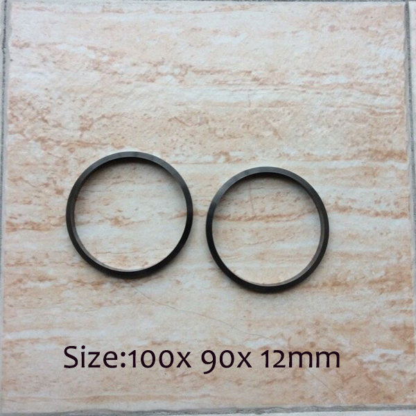 hard metal ring for ink cup of pad printing machine with dimension 100x 90x12mmhard metal ring for ink cup of pad printing machine with dimension 100x 90x12mm
