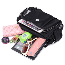Новая Водонепроницаемая нейлоновая сумка, многослойная оксфордская сумка, модная сумка через плечо, Женская Повседневная сумка