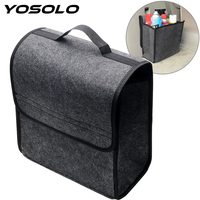 YOSOLO Car Trunk Storage Bags Car Organizer Folding Holder Box Auto Rear Storage Pouch Multi Use