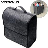 YOSOLO Car Trunk Storage Bags Car Organizer Folding Holder Box Auto Rear Storage Pouch Multi Use