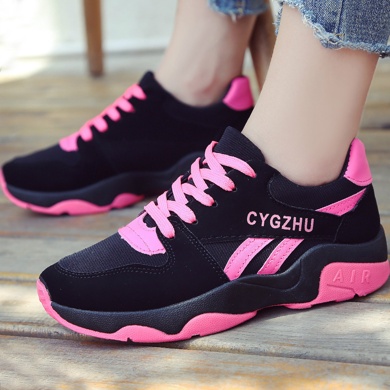 Casual shoes woman 2018 new arrival Cross straps size 35-40 stars spring/autumn fashion shallow solid tenis feminino