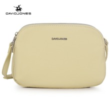 DAVIDJONES Female Crossbody Shoulder Bags Mini Clutch Purse Bag Multi-Pocket Crossbody Purse Bag Women Small PU Messenger Bags