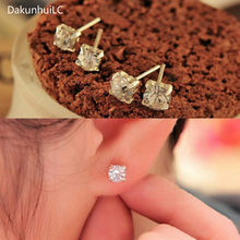 2019 New Fashion Exquisite Korean Crystal Earrings Female Star Lulu Jewelry Earrings Wholesale(China)