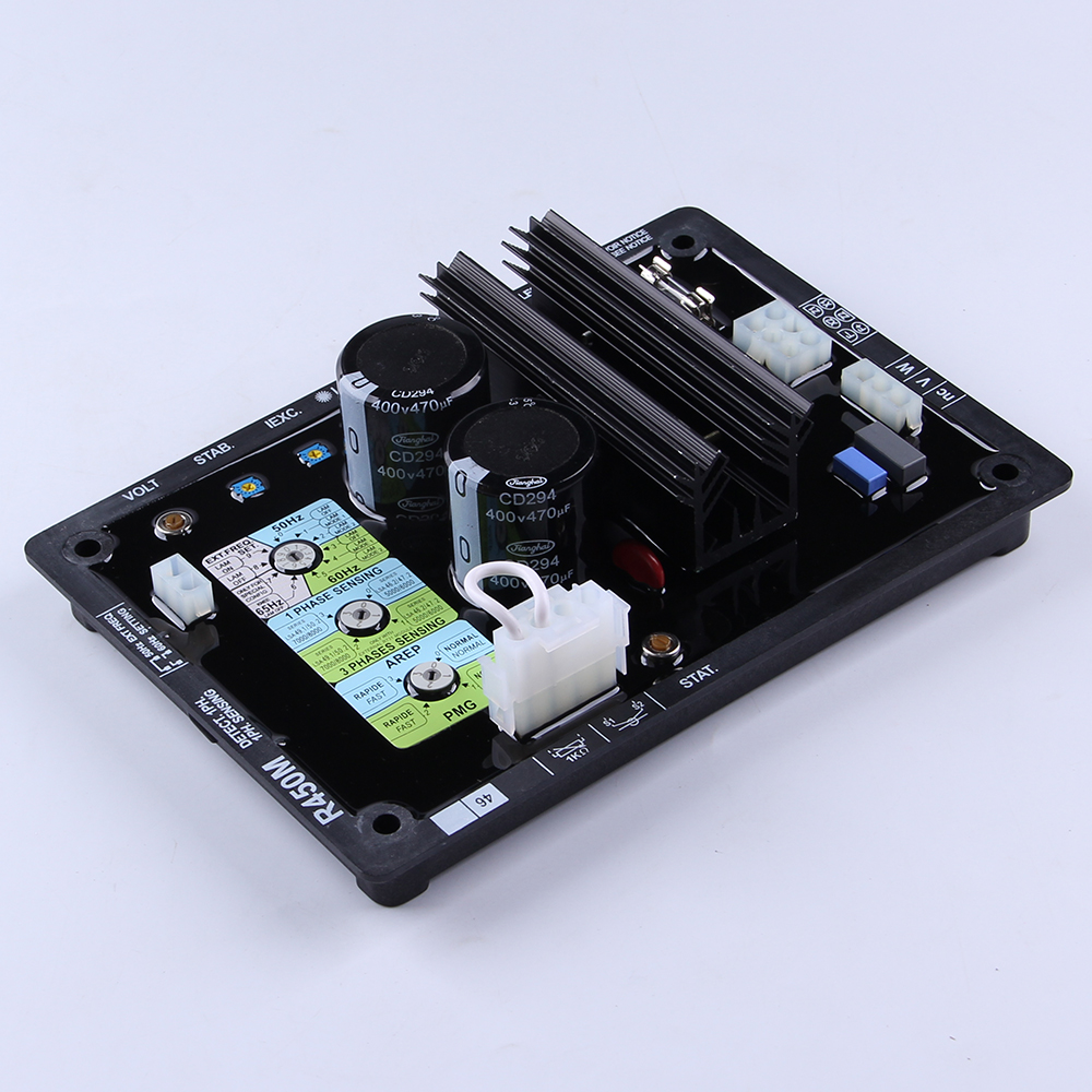 High Quality Programmable Integrated Circuit ac Geneset Maintenance Generator AVR R450M Alternator Automatic Voltage Regulator gs2964 ine3 integrated circuit mr li