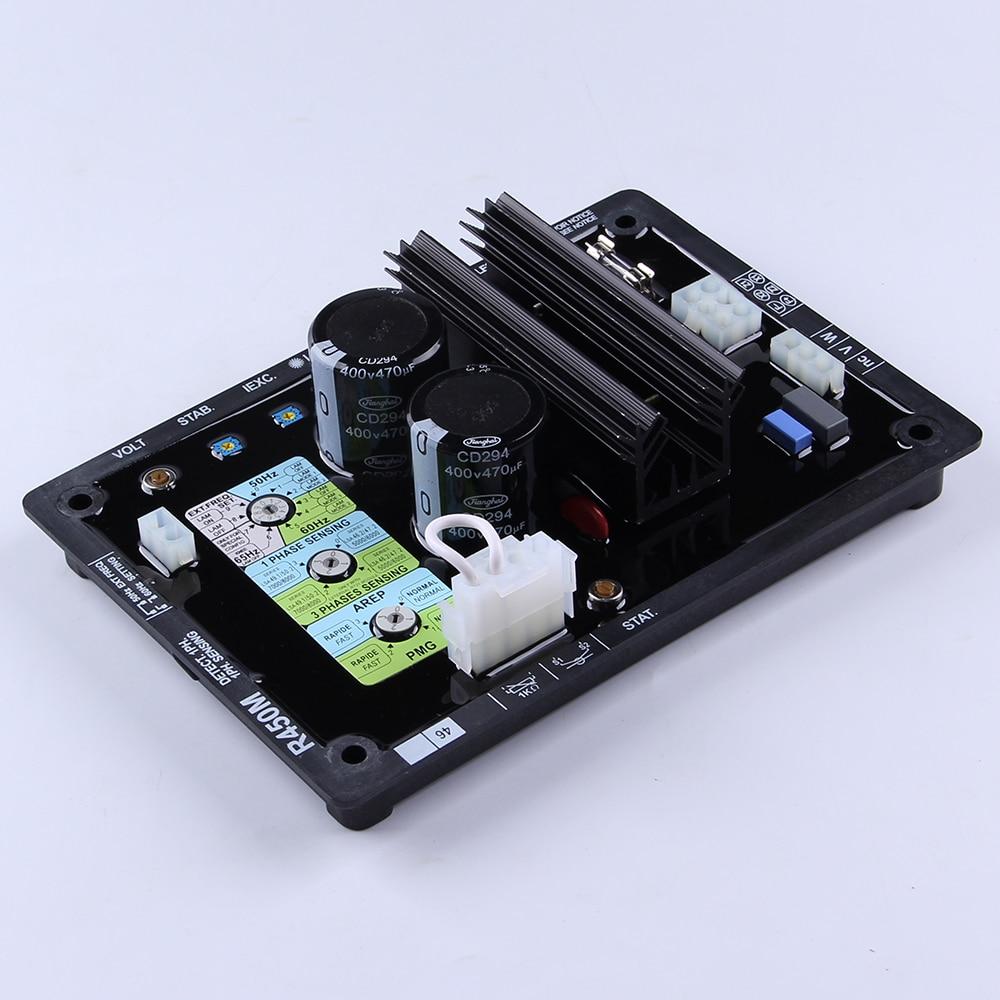 High Quality Programmable Integrated Circuit ac Geneset Maintenance Generator AVR R450M Alternator Automatic Voltage Regulator цена