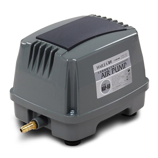 80 ワット 100L/分 hiblow 水族館水槽浄化槽酸素エアーポンプアクア送風水耕池/シーフードプール空気圧縮機