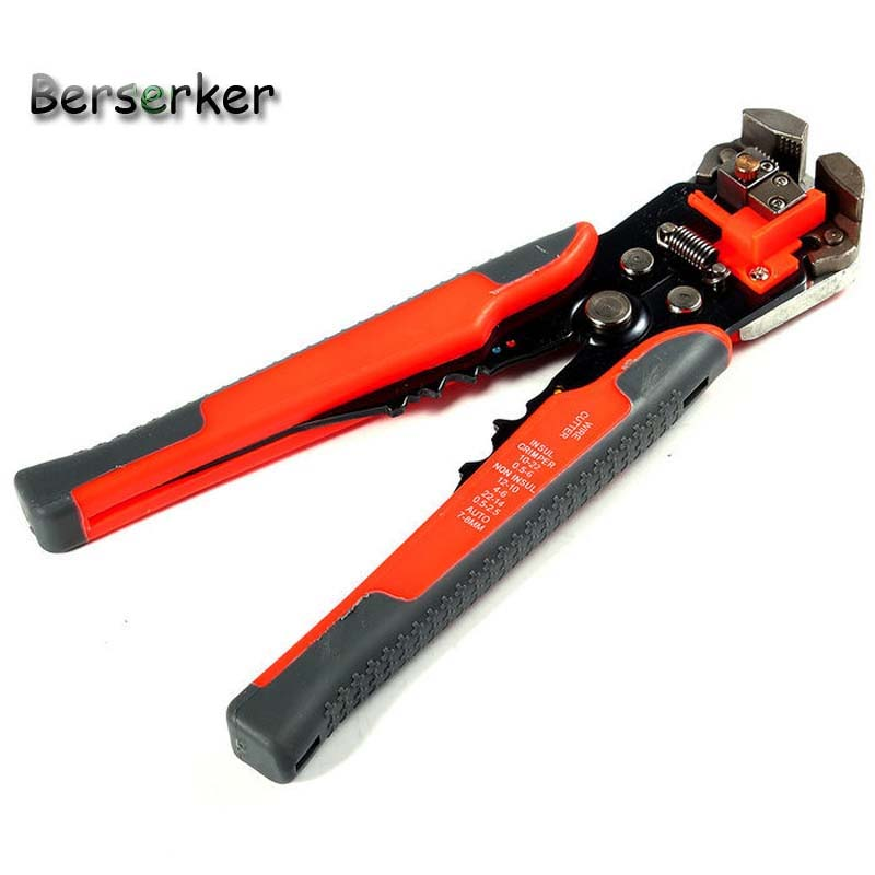 Berserker Cable Wire Stripper LX 014 Multifunctional Automatic Crimping Hand Tools Free Shipping in Power Tool Accessories from Tools