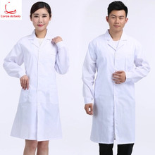 Lab coat long sleeve chemistry lab for male and female students