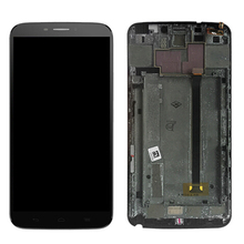 Для Alcatel One Touch Hero 8020 8020D OT8020 ЖК-дисплей Дисплей с Сенсорный экран планшета в сборе с рамкой Бесплатная доставка