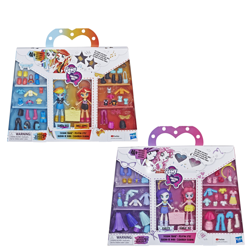 Toy Dolls Action-Figure Collection Girls Mini My-Little-Pony Model for 10cm